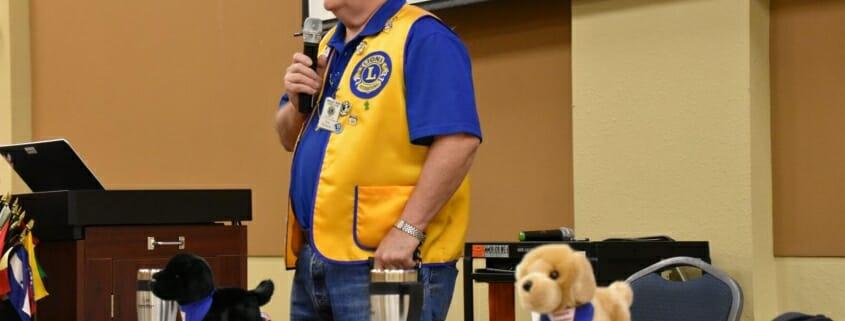 Paul Richards Leader Dog